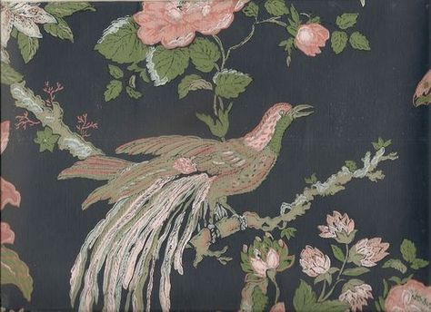 Image result for Thibaut wallpaper, birds Vintage