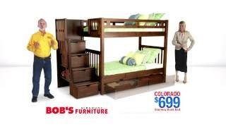 Colorado Stairway Bunk Bed Bob S Discount Furniture Stairway