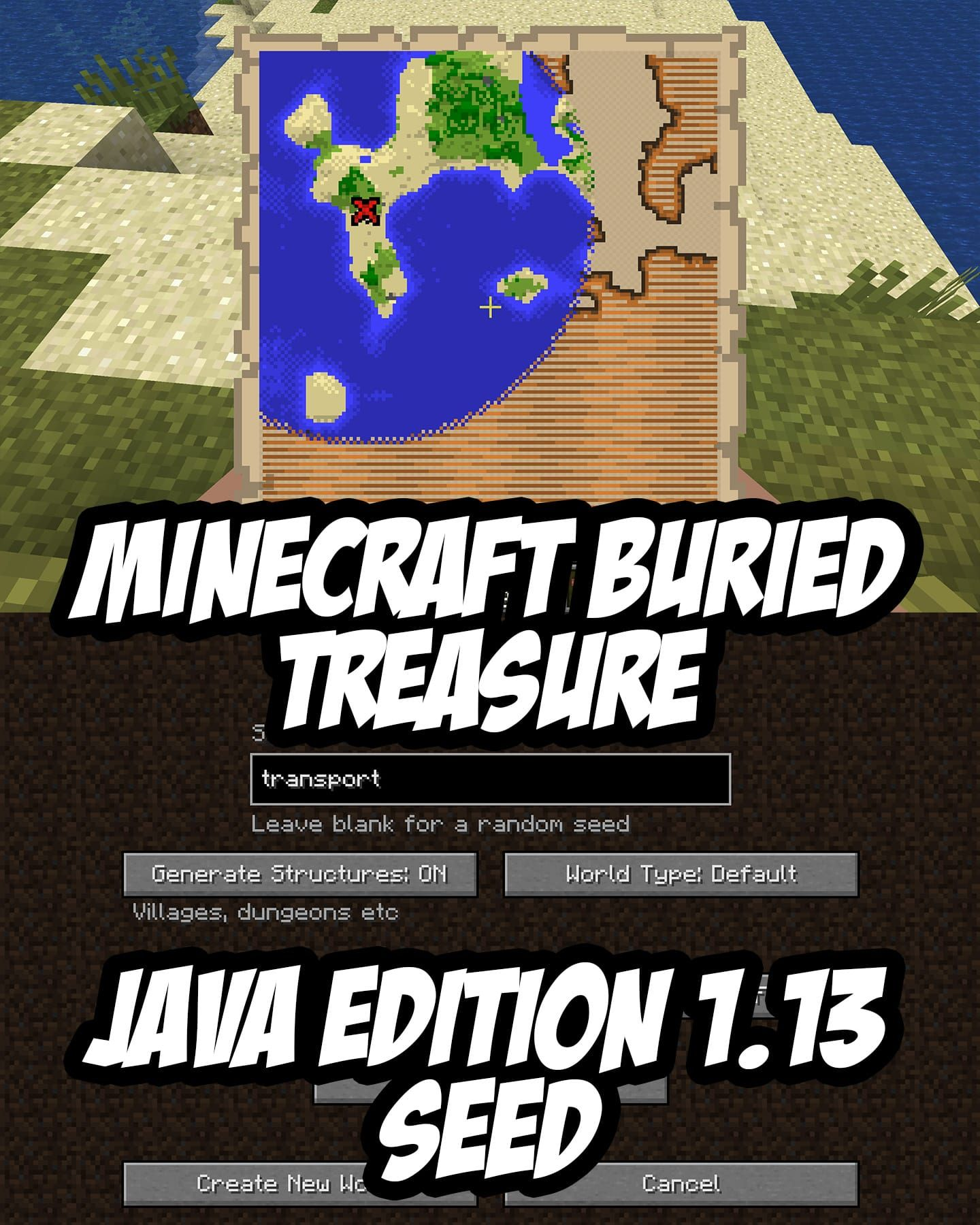 Minecraft java edition 113 buried treasure map seedtransport or minecraft java edition 113 buried treasure map seedtransport or by number gumiabroncs Image collections
