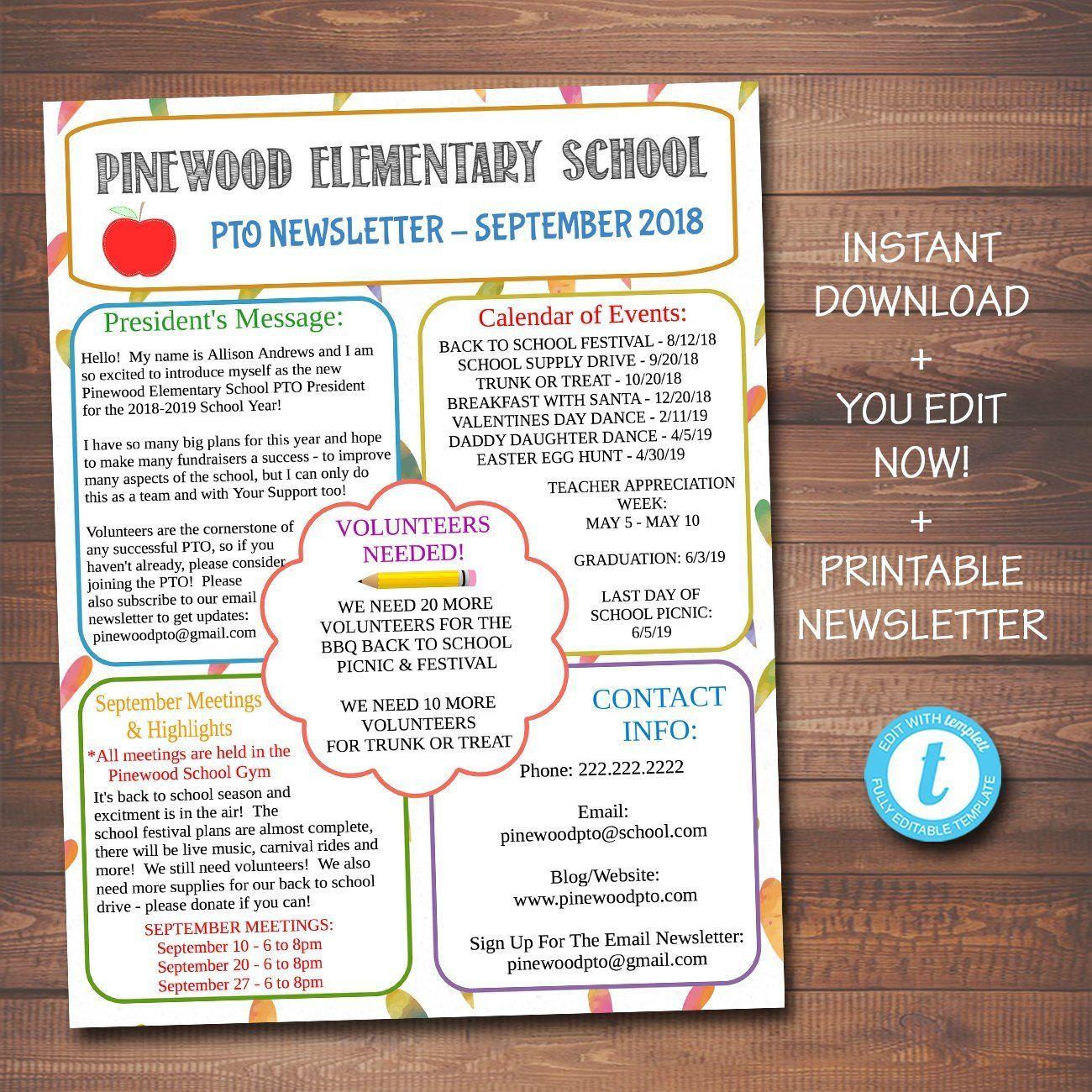 Custom Editable Free Printable 2019 Calendars Free Printable