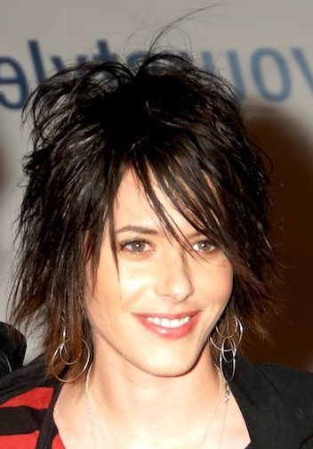 Layered Shag Haircut For Round Face If I Got Really Brave My