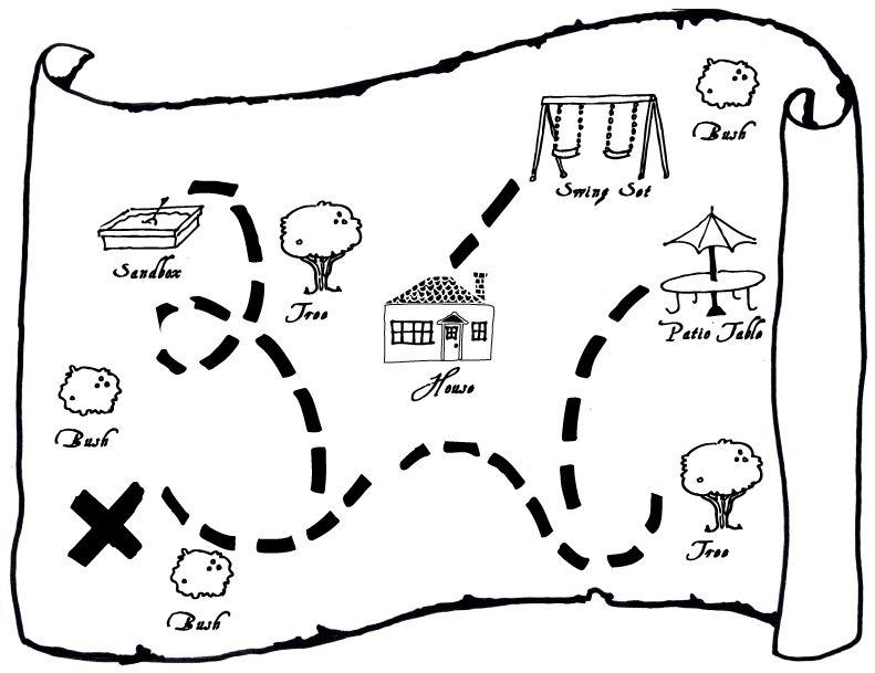Printable Treasure Map Fun Printable Primary Singing Time