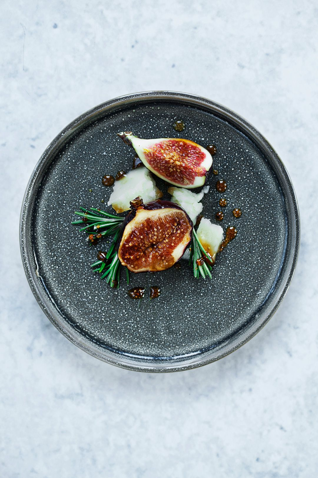 Braised Figs Recipe with Rosemary and Honey Recipe