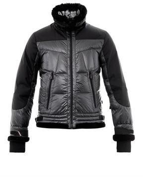 moncler ski jacket black