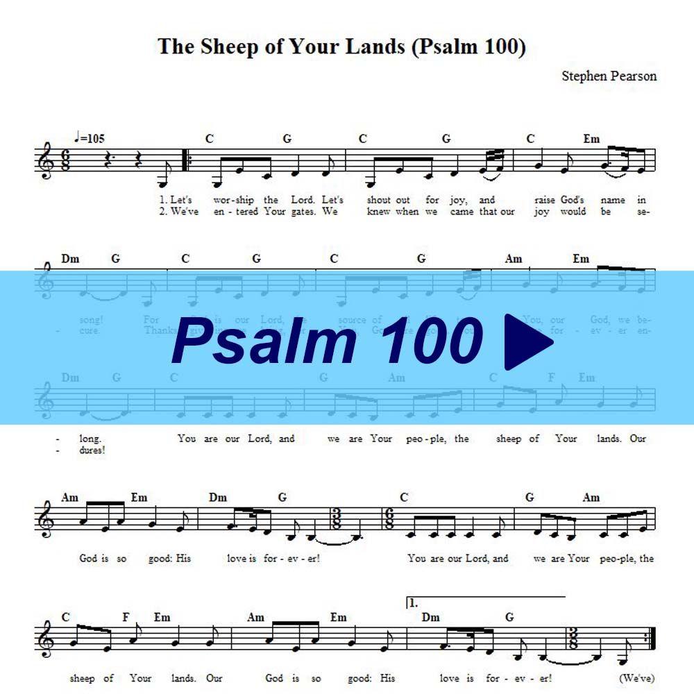 Pin On Psalms Sheet Music Lyrics Audio Video