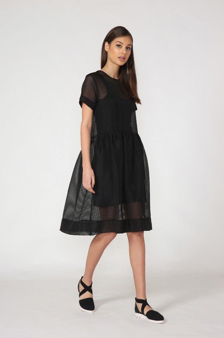 Spring Dresses Black
