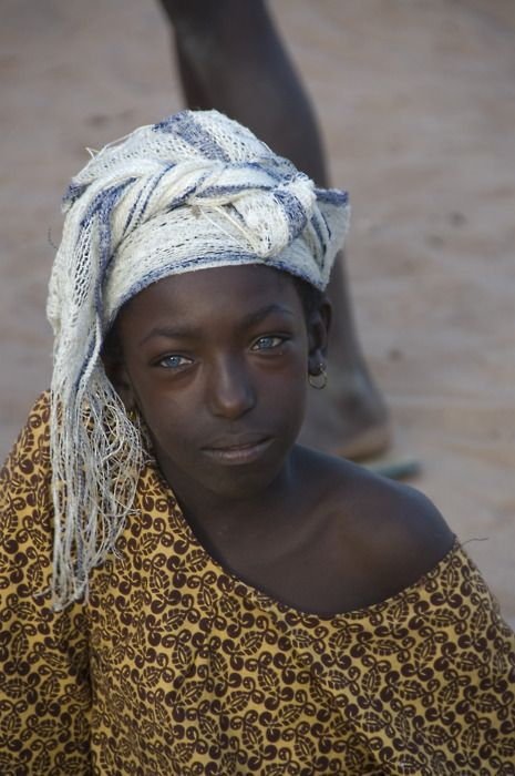 Beautiful Eyes - Gambia