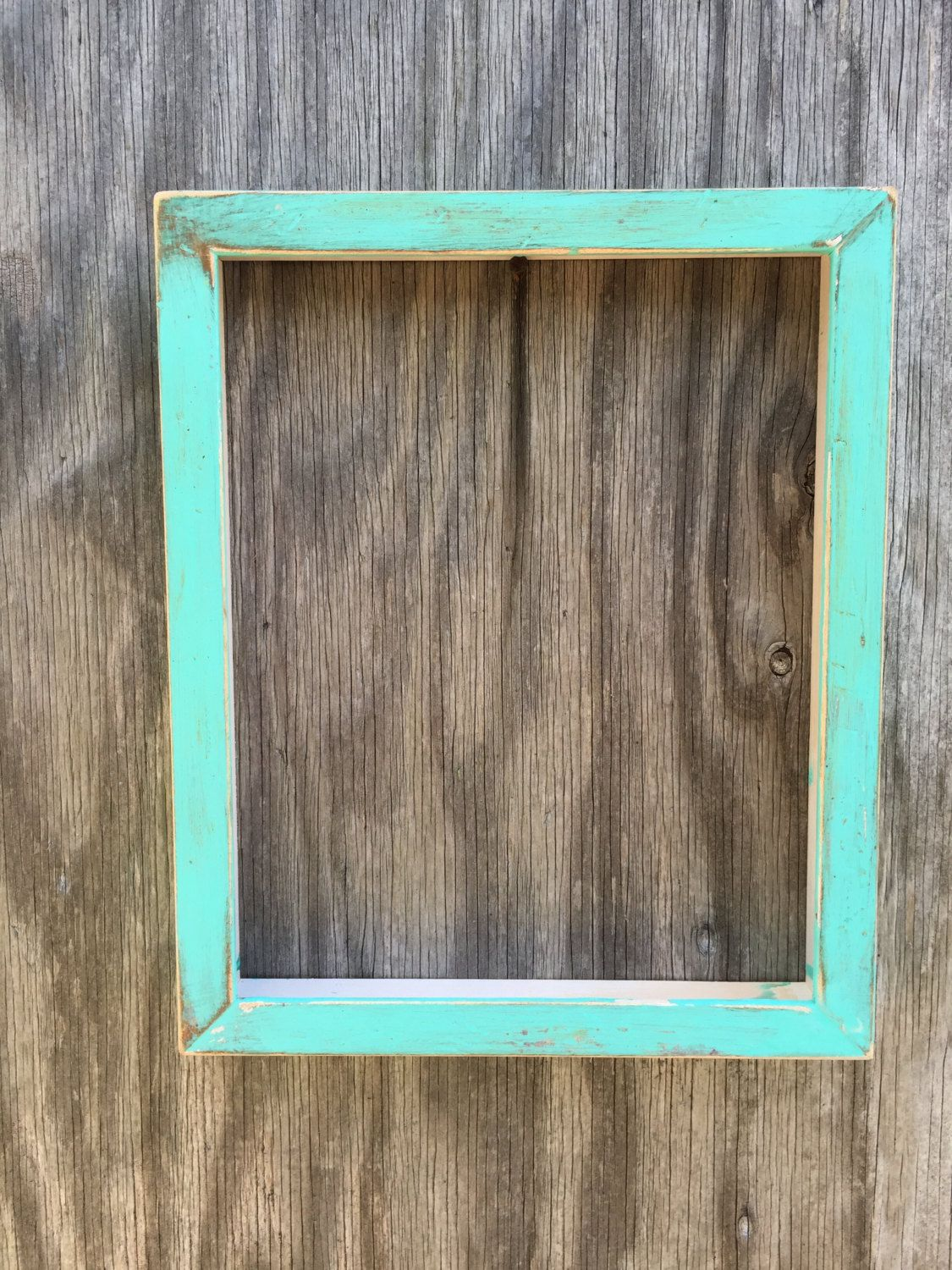 Rustic Distressed Solid Wood Frame, 8x10\