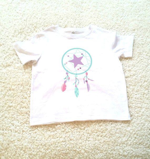 Dream catcher  graphic children's Tshirt. Sizes 2T by StarrJoy16