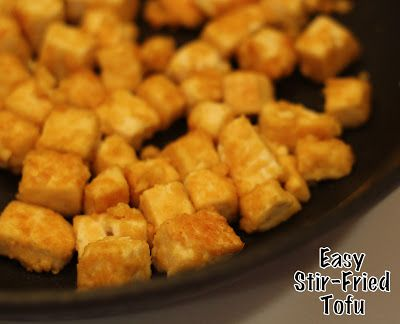 My So Called Mommy Life Easy Stir Fried Tofu Tofu Recipe For Toddler Recipes Baby Food Recipes