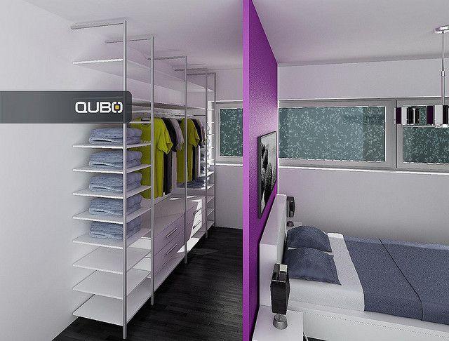 Armario almacenaje en buhardilla vestidor dormitorio y - Armarios almacenaje ...