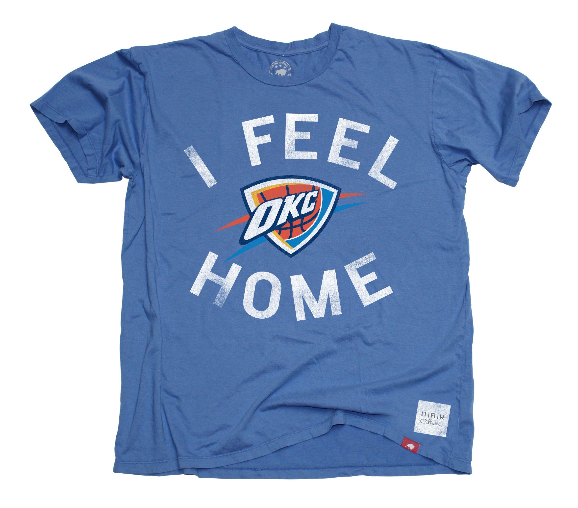 OKC Thunder I Feel Home | basketball | Pinterest | Thunder