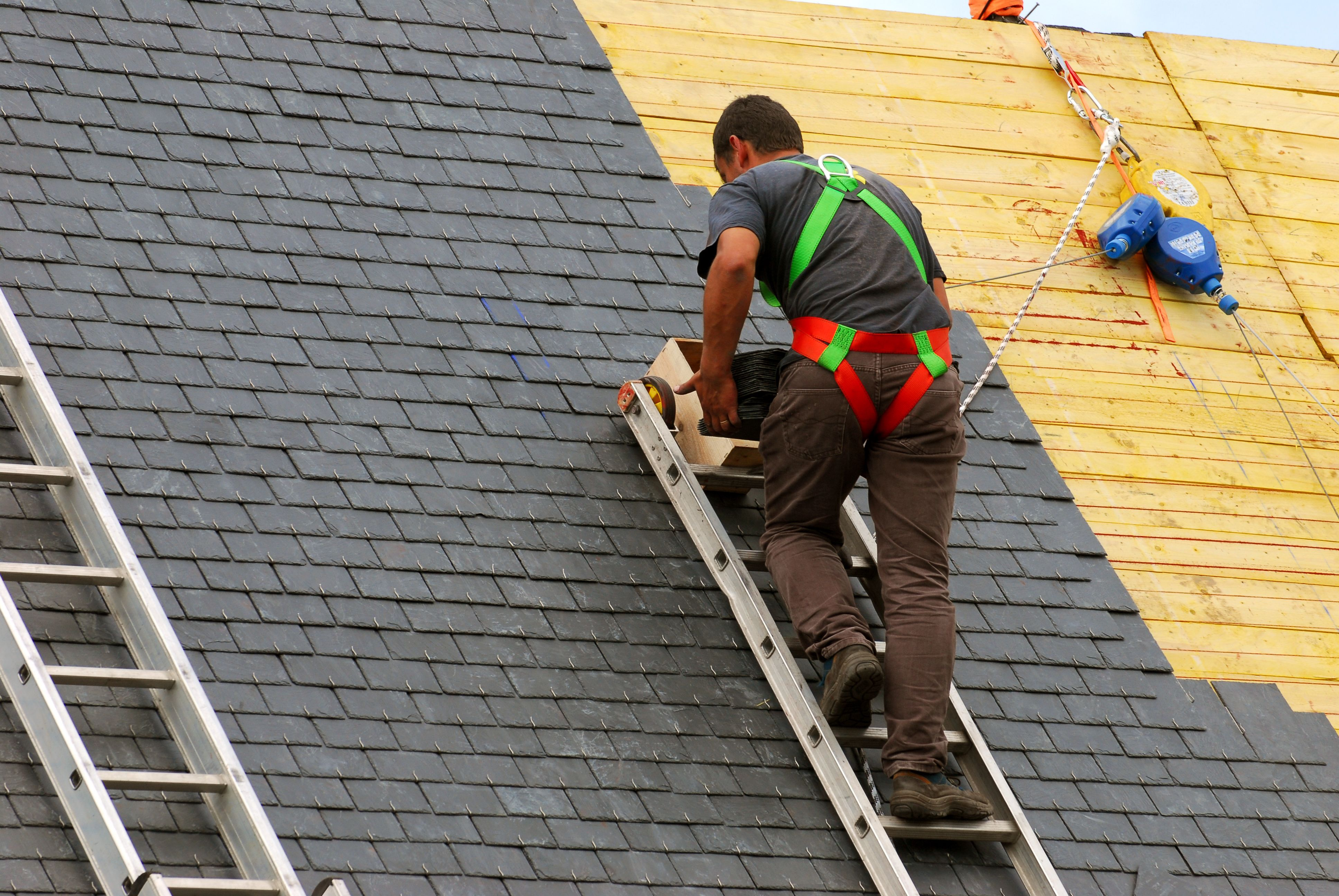 A Roof Is A Most Important Part Of Any Building Whether It S An Office House School University Hospital Factory Residential Roofing Roofing Services Roof Restoration