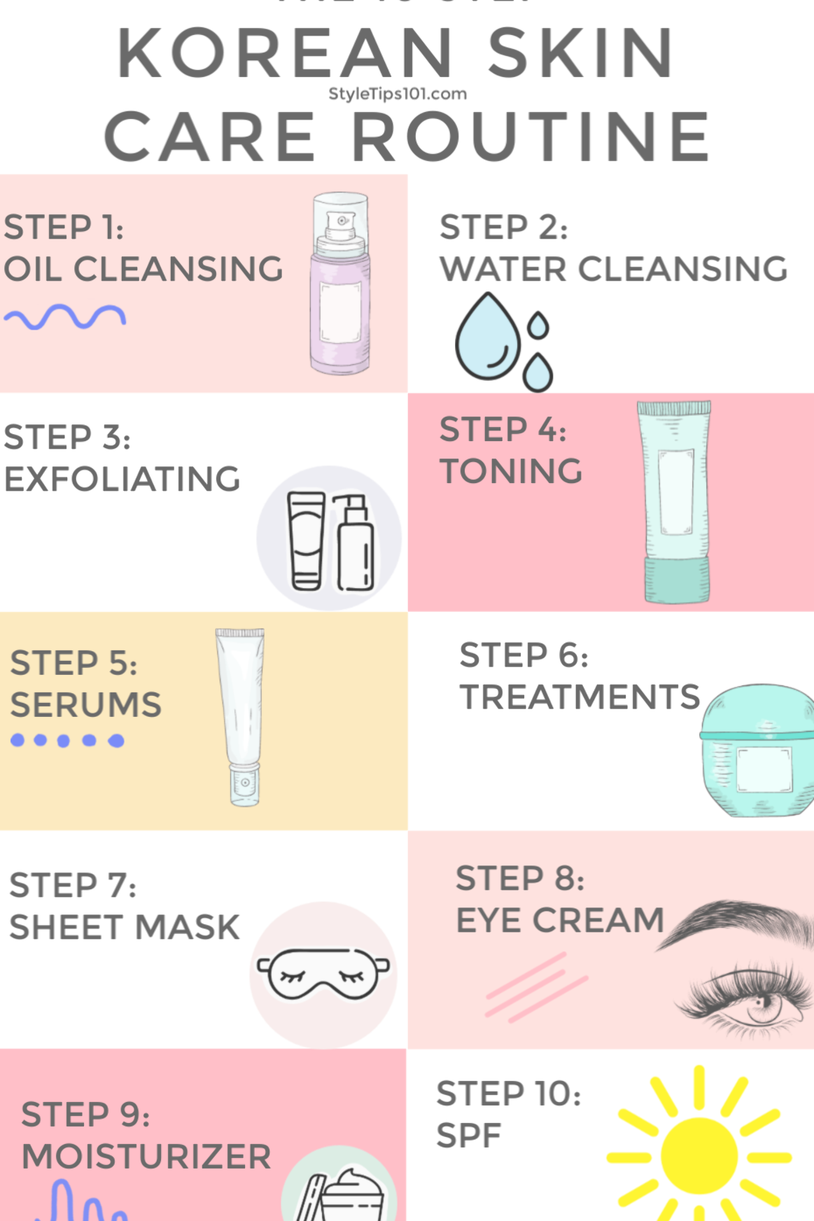 Korean Skin Care Routine Korean Skincare Routine Facial Skin Care Routine Skin Care Routine