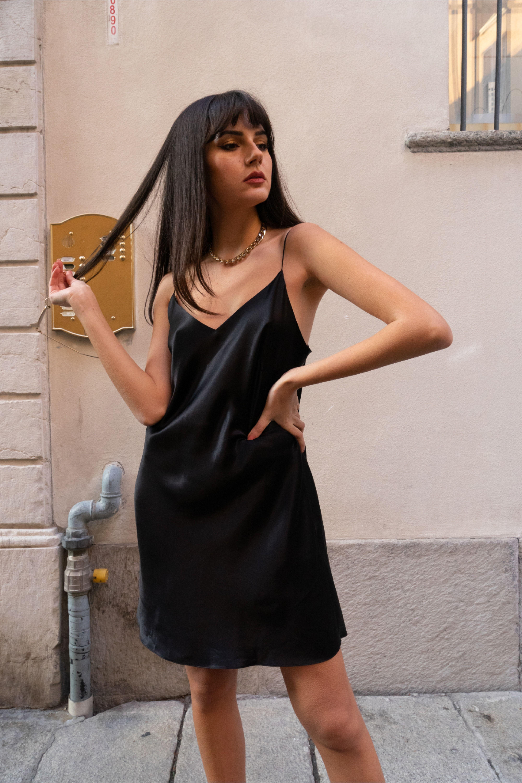 Our Black Mini Dress Slip Dress Mini Slip Dress Mini Black Dress [ 6000 x 4000 Pixel ]