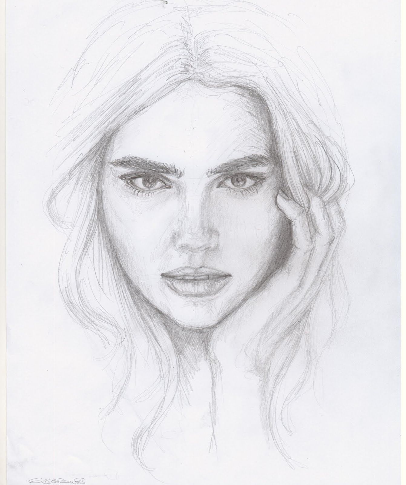 Face pencil drawings drawing artisan