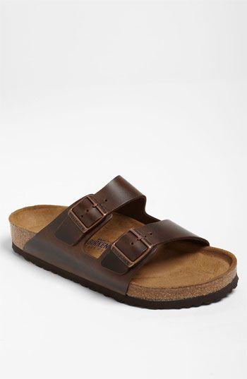 Birkenstock  Arizona Soft  Sandal (Men) available at  Nordstrom ... c9a988eb0fee