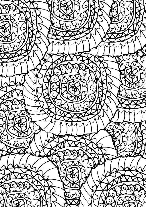 Naga Coloring Pages