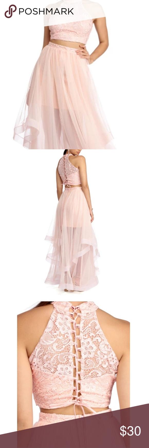 Windsor Pink 2 Piece Formal Dress 2 Piece Formal Dresses Dresses Formal Dresses [ 1740 x 580 Pixel ]