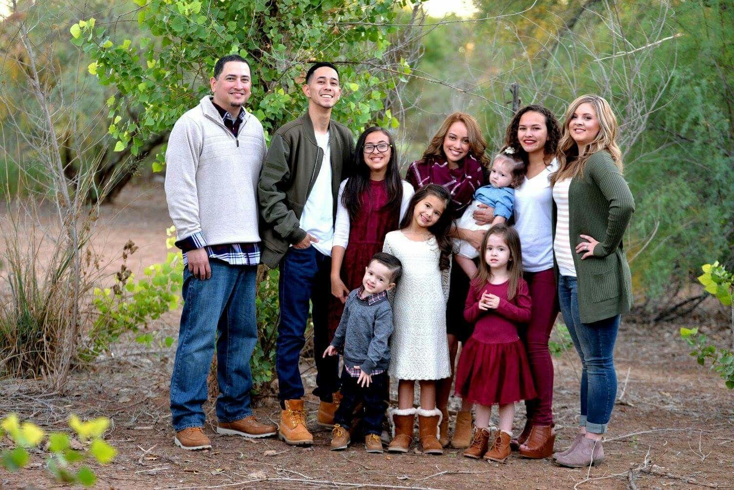 Photos family color schemes for