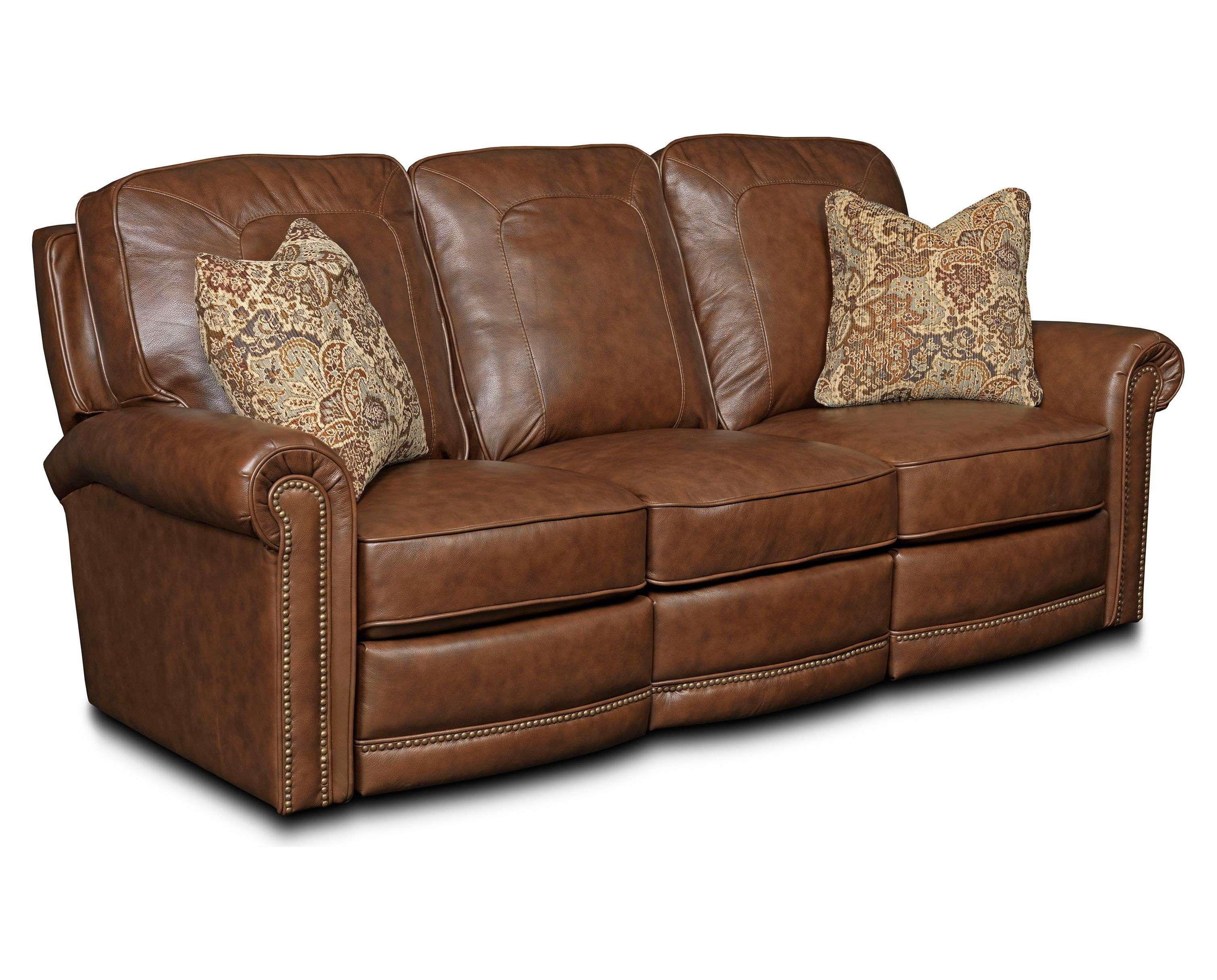 Jasmine LEATHER POWER Recliner Sofa