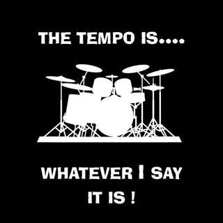 18d7fac6e Drummers#true we say what ever the tempo is slow it fast | Drumming ...