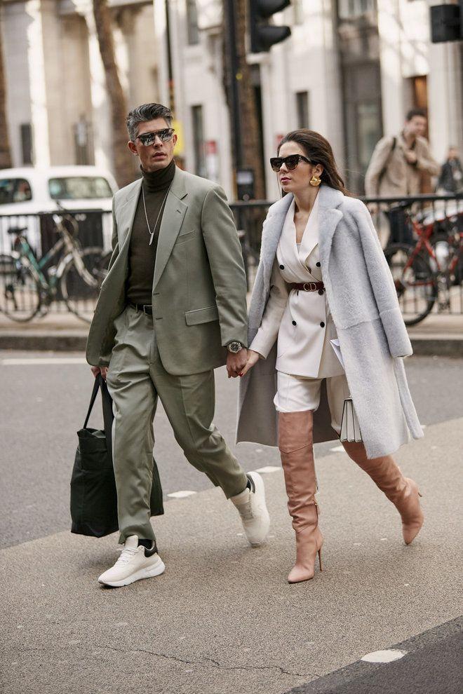 Уличная мода: Уличный стиль недели моды в Лондоне: осень ...