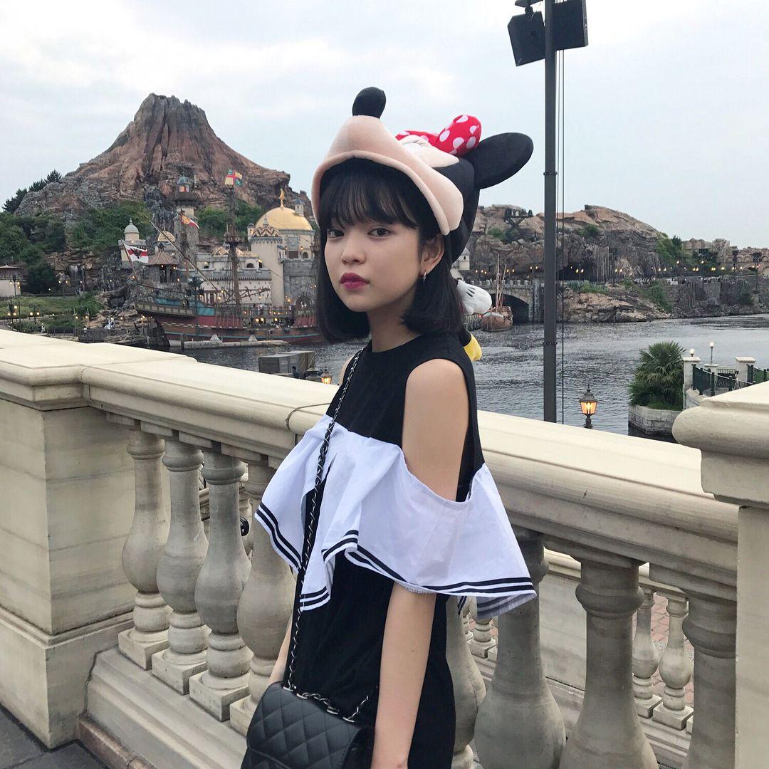 ディズニーの田中芽衣