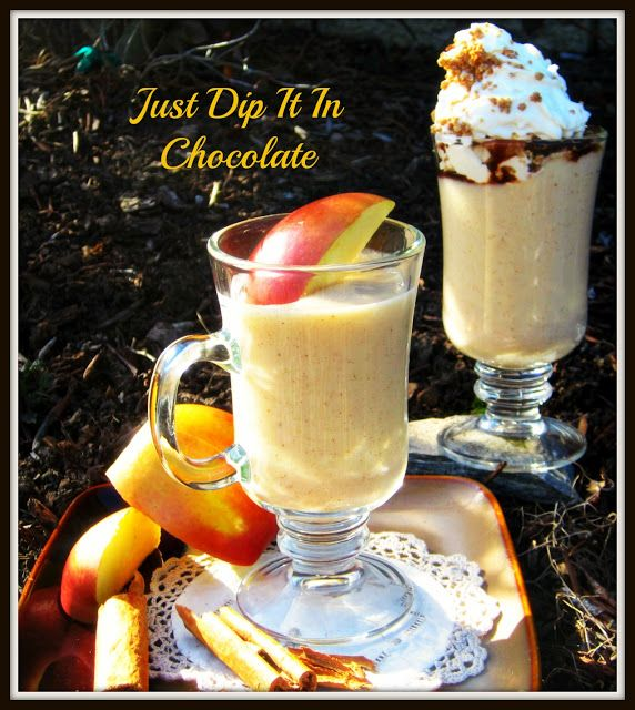 Just Dip It In Chocolate: Apple Pie #Smoothie