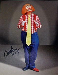 Movies Fine Frank Avruch Bozo The Clown Signed Autographed Photo