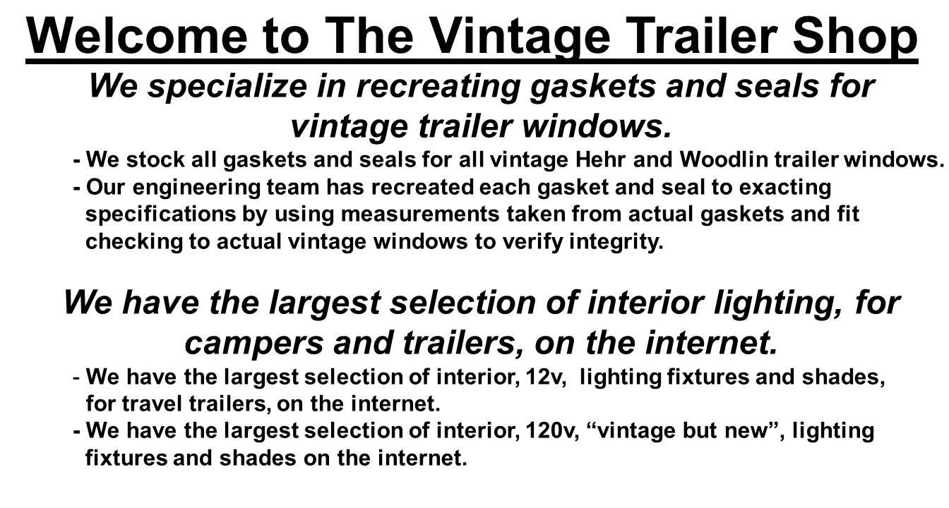 Vintage Trailer Shop  Vintage Trailer Shop  Travel Trailers