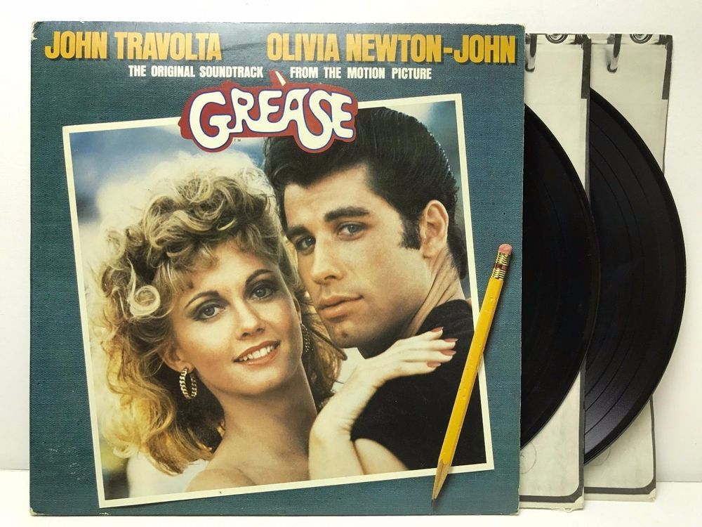 Grease The Original Movie Soundtrack Rs 2 4002 Original Lp Vinyl Record Album Movie Soundtracks Grease Soundtrack Childhood Memories