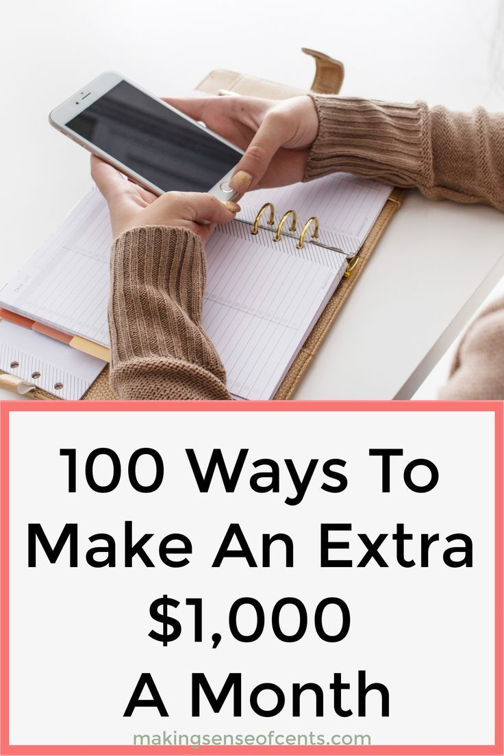 Ways To Make An Extra $1,000 A Month - How To Make 1000 A ...