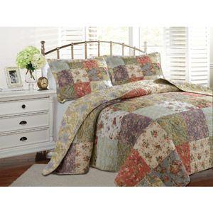 Global Trends Carmel Bedspread Bedding Set Bed and Bath