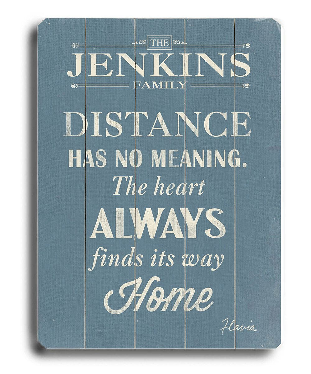 Look at this 'Always Finds Its Way Home' Personalized Wall Sign on #zulily today!