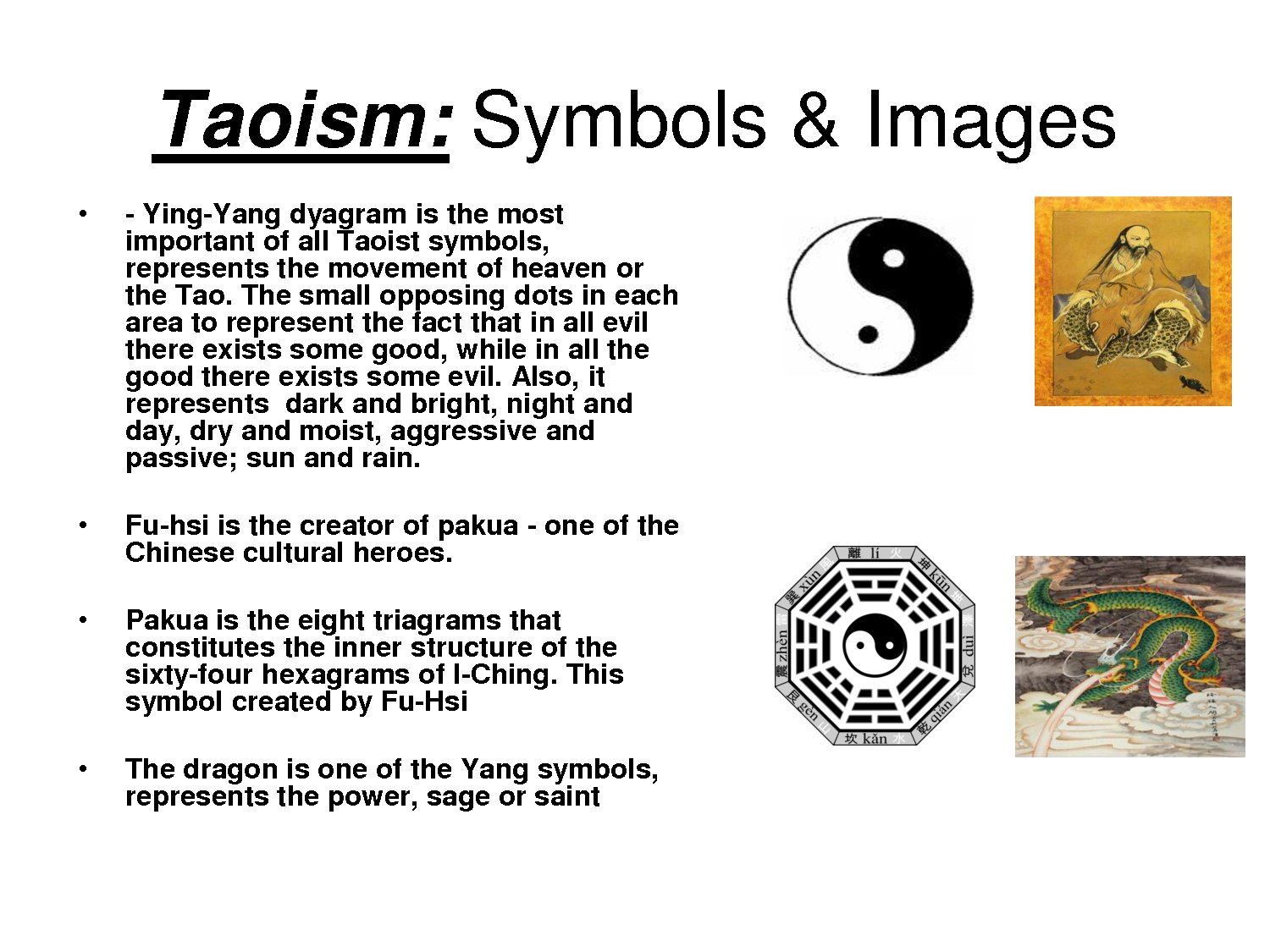 Taoism Takes Its Name From The Word Tao The Way The Ancient