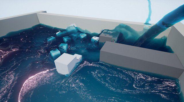 NVIDIA has created Cataclysm Liquid Solver for the Unreal