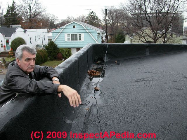 Built Up Roof Failure Blisters Form Because Of Air Trapped In Between Roofing Felts And Roofing Fe Roof Installation Roof Insulation Flat Roof