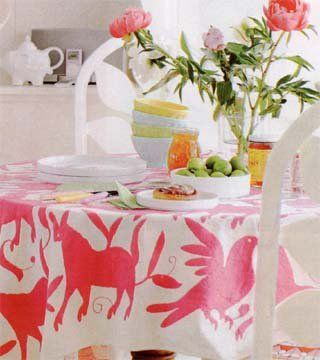Otomi Textiles in Real Interiors, whimsy and fun!