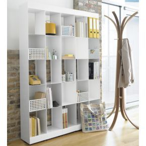 Carlson II White Tower In View All Storage   CB2