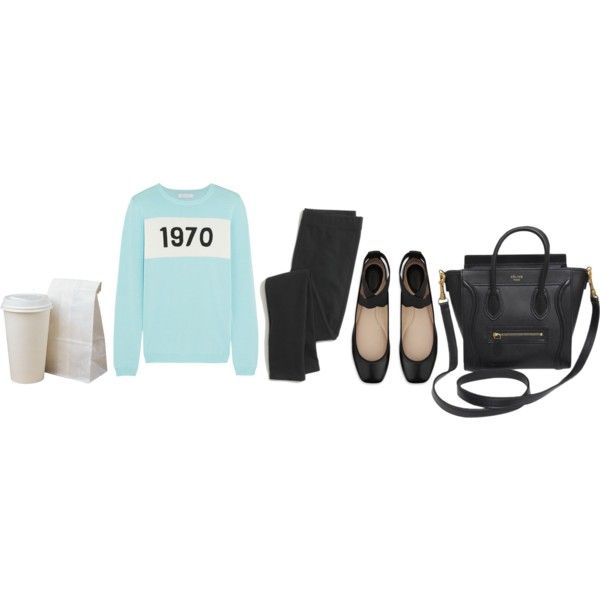 Untitled #247 by katieghaas on Polyvore featuring Bella Freud, Madewell, Chloé and CÉLINE