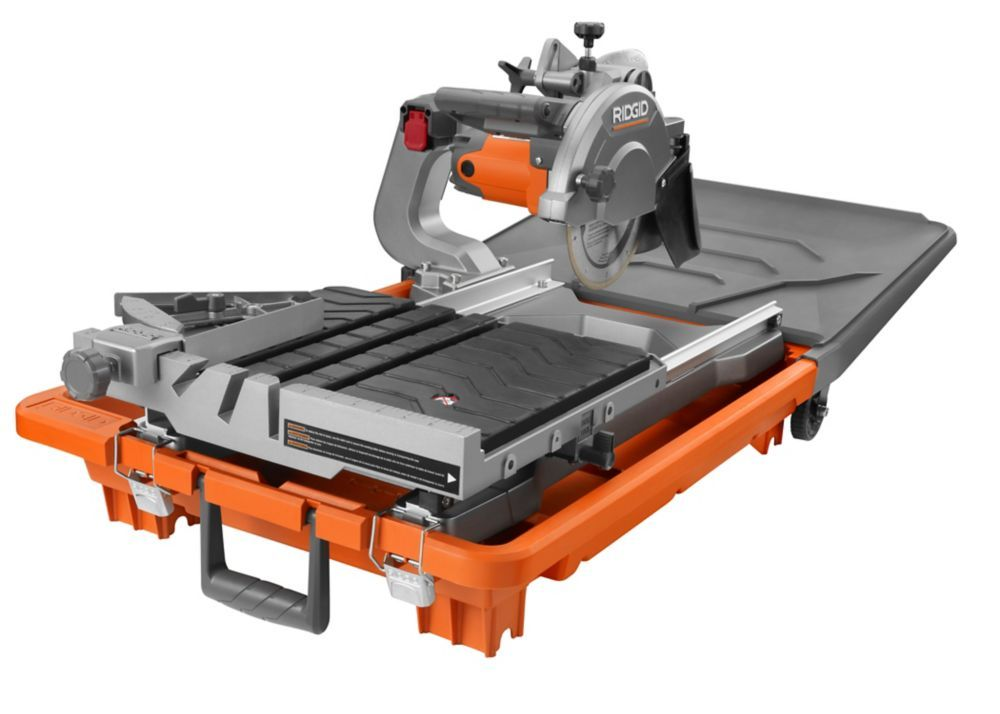 8 In Jobsite Wet Tile Saw