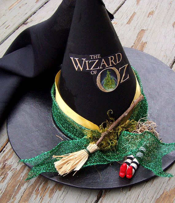 Halloween Tree Topper OZ Witch Hat Wizard of Oz Ornament