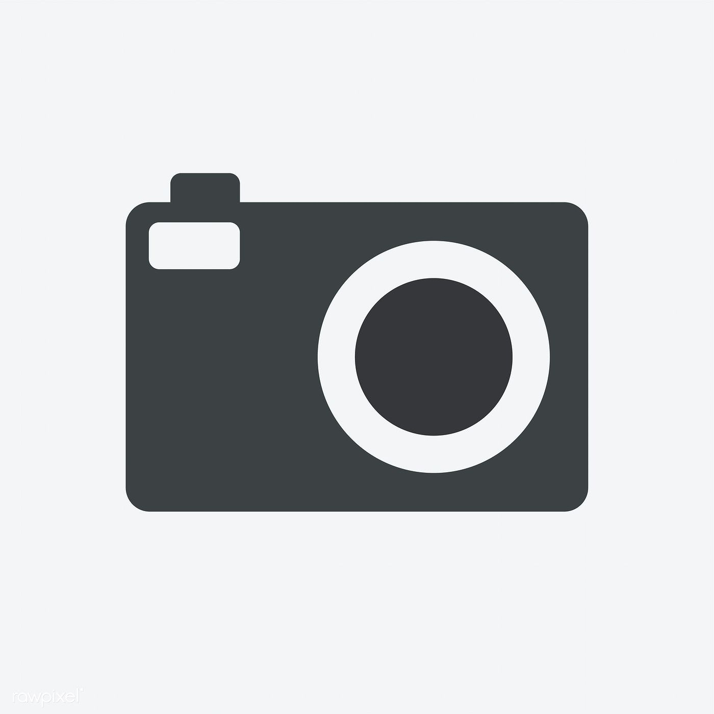 Vintage Camera Icon Isolated On Background Free Image By Rawpixel Com Camera Logos Design Camera Icon Vintage Camera