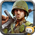 Frontline Commando: D - Day App App Icon Logo By Glu Games Inc - FreeApps.ws