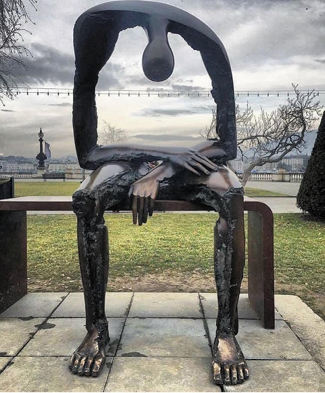 Emptiness Original Artist Albert Gyrgy Sculpture Art