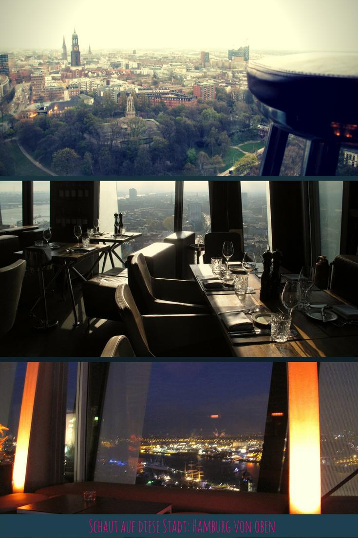 Hamburgs höchstes Restaurant: Clouds | Hamburg | Restaurant hamburg ...