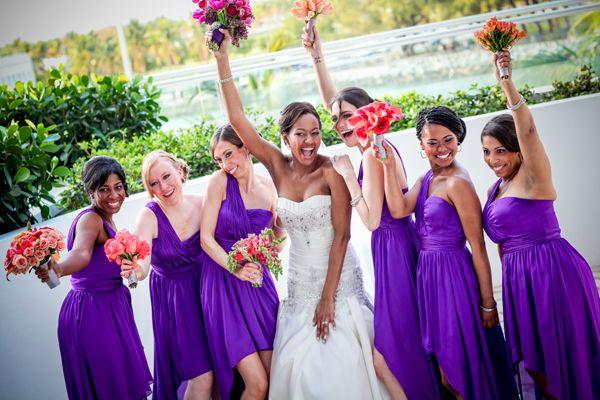 Classic Destination Wedding With Modern Twist In Miami