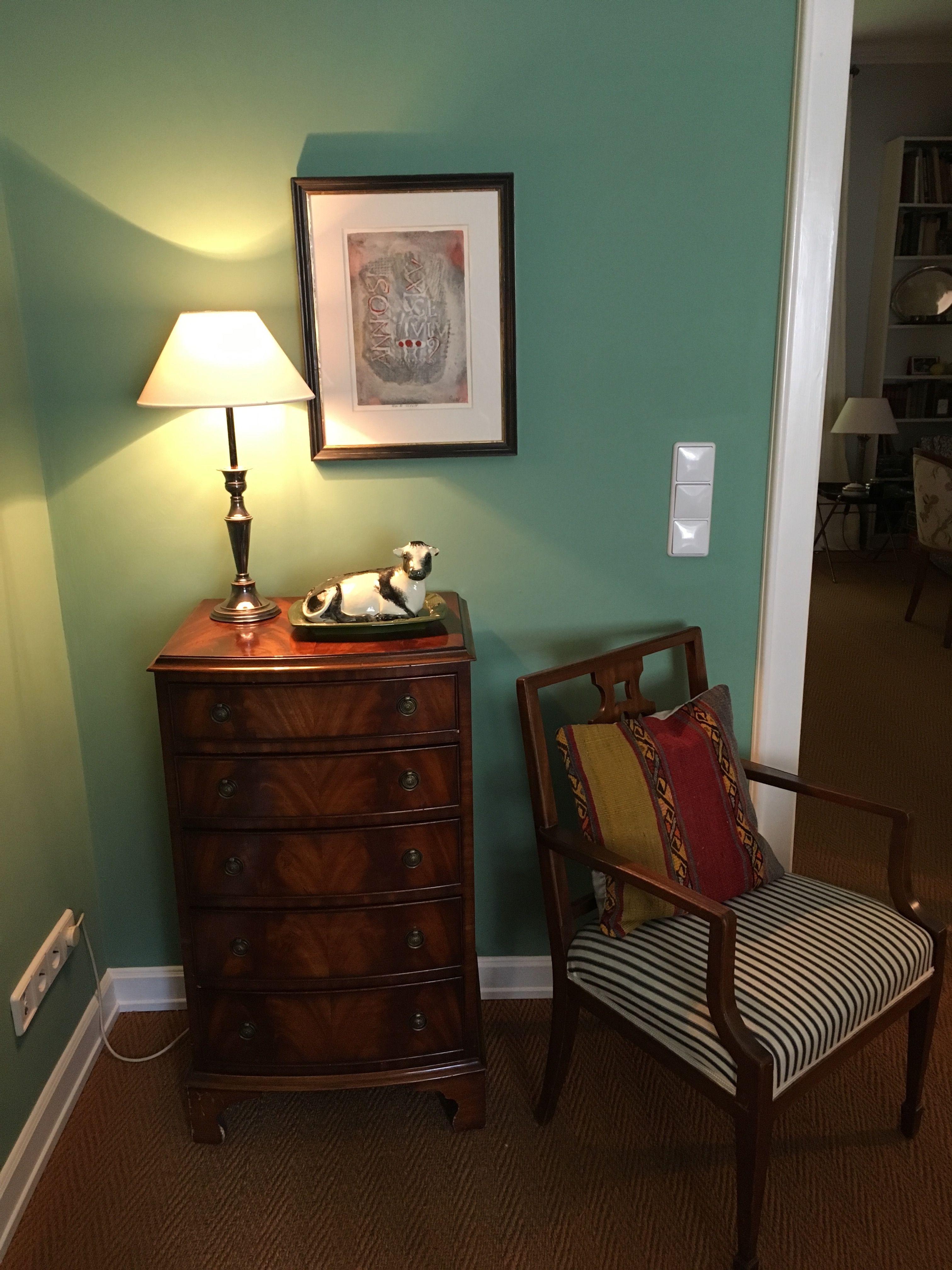 Verführerisch Küchenfarbe Wand Referenz Von Wohnzimmer In Der Kreidefarbe Hope 045 Von