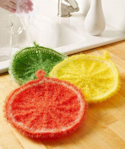 Splash of Citrus Scrubby | Džiugūs darbeliai | Pinterest | Häkeln ...